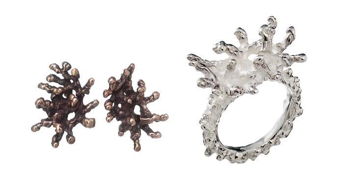 La joyería bordada en metales preciosos de Patricio Parada