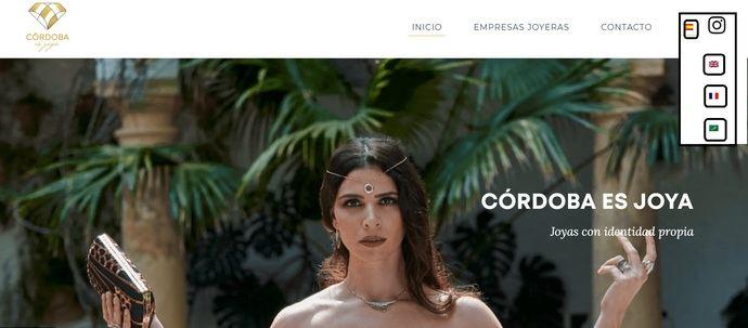 Córdoba Jewelry se internacionaliza con web en francés, árabe e inglés