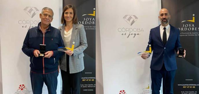 El diseñador Álvaro Larrosa y Joyas 24 KL reciben el premio anual de Córdoba