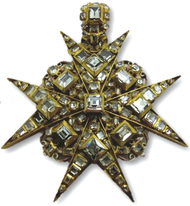 Tasando tesoros: Cruz de Malta del siglo XVIII