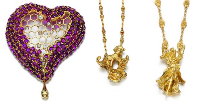 El Corazón de Miel de Dalí cuadriplica su precio en subasta
