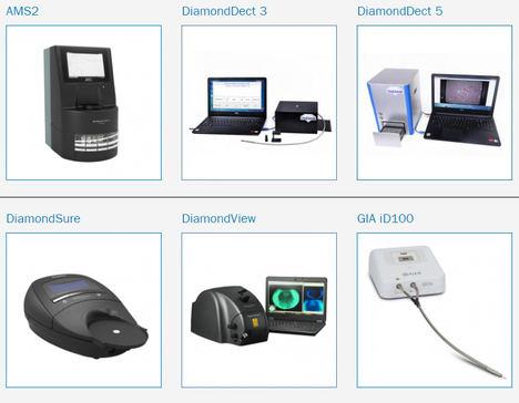 Los principales detectores de diamantes sintéticos, a examen