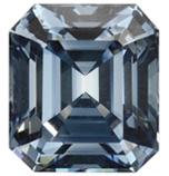 Diamante sintético de 5,03 quilates.