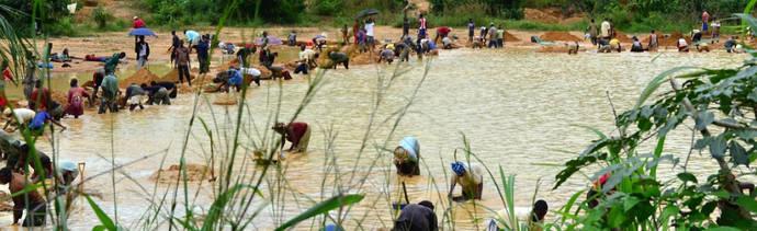 ¿Un precio 'justo' para los pequeños productores de diamantes africanos?