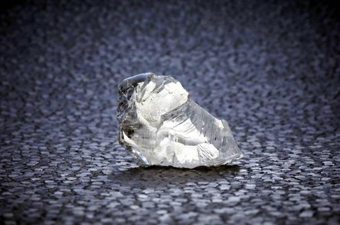 Precio record por un diamante 'helado'