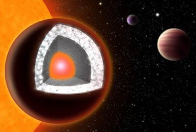 Los diamantes sintéticos y extraterrestres de Arthur Clarke