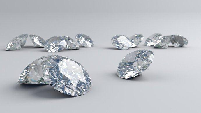 Fraude: diamantes de baja calidad que pasan por buenos