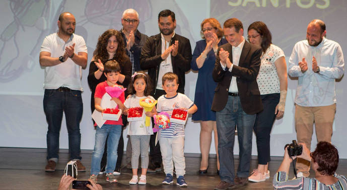 Entrega en Vigo de los premios Dinoseto de Joyería