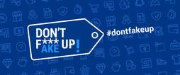 Cartel de la campaña contra las falsificaciones de la Policía Europea.