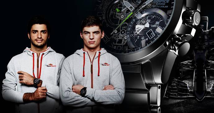 Casio apuesta por la Fórmula 1 con su marca Edifice