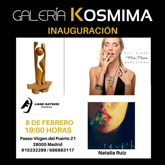 Pintura, Escultura y Joyería se dan cita en Galería Kosmima