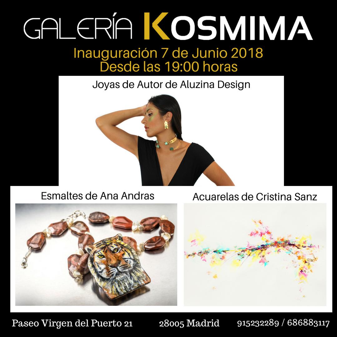 Una exposición con mucho arte a partir del 7 de junio en Galería Kosmima