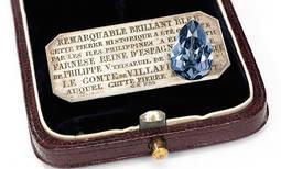 El diamante azul de Isabel de Farnesio se vende por casi 6 millones