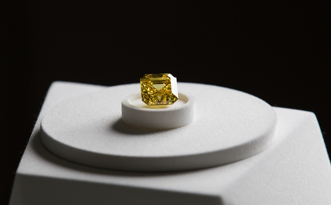 Graff compra un impresionante diamante amarillo de 20,7 quilates