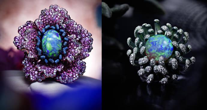 Naturaleza y piedras de color, de Chopard