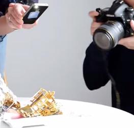 Charla en el IGE sobre fotografía de Joyas y Gemas
