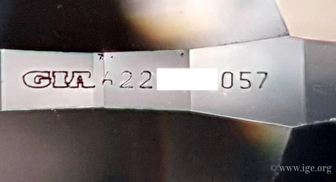 El IGE neutraliza la venta de dos diamantes fraudulentos