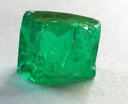 La esmeralda de casi 26 quilates encontrada en la mina de Coscuez. Foto: Fura Gems Inc.