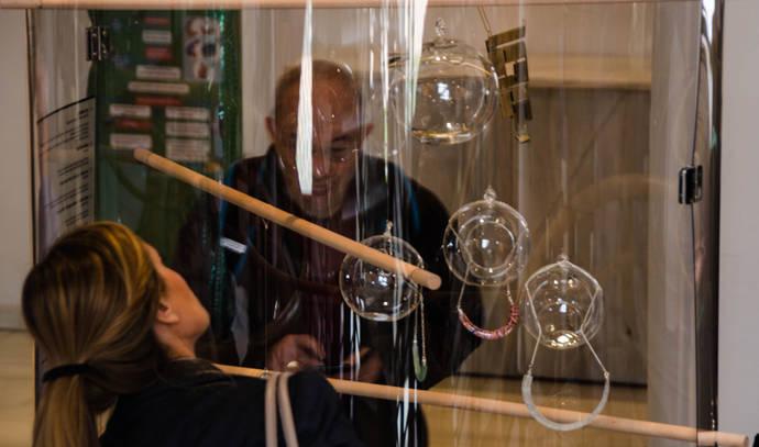 La joyería en vidrio más innovadora se da cita en Madrid
