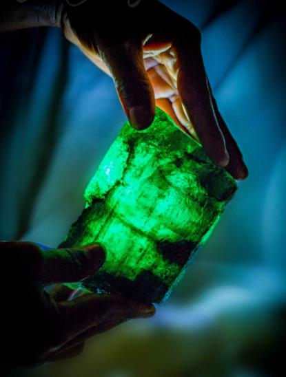 Una empresa india compra la esmeralda de 5.655 quilates
