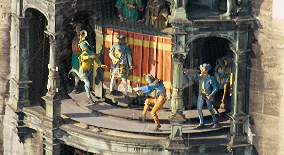 Los relojes que marcarán el año: Rathaus-Glockenspiel de Múnich