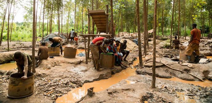 La última frontera del oro en África