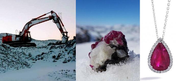 La única mina de Groenlandia consigue cash para ampliar su búsqueda de rubíes