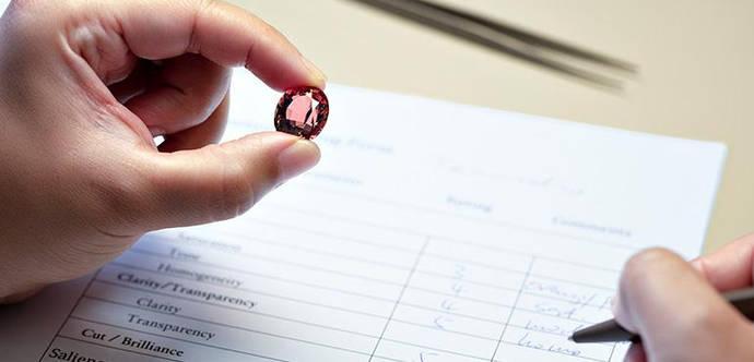 Un laboratorio suizo propone una clasificación de piedras de color similar a la de los vinos