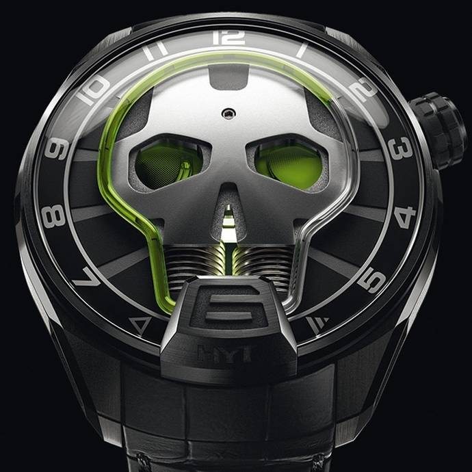 Relojes especiales: HYT | Skull Green