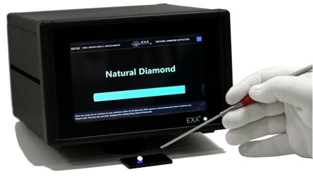 El IGE mostrará un nuevo detector de diamantes durante su 50 Aniversario