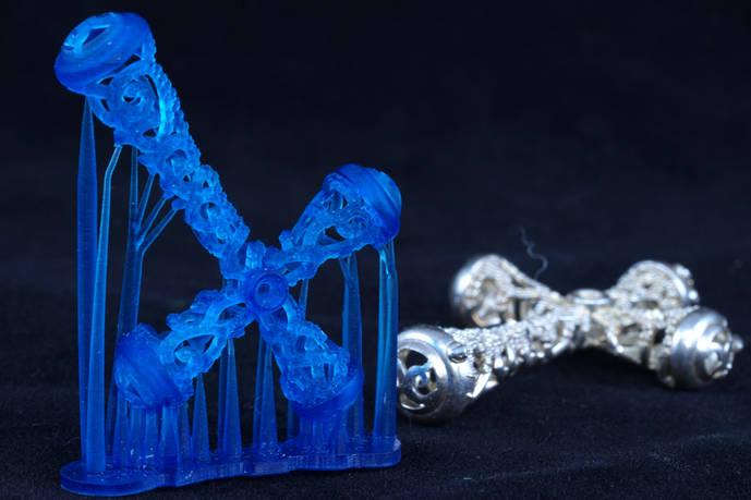 La revolución de la impresión 3D en joyería