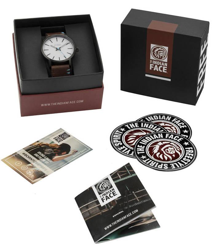 La española The Indian Face estrena colección de relojes