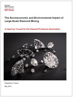 Portada del reciente informe encargado por los Productores de Diamantes.