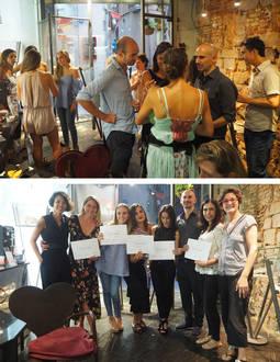 Entrega de Diplomas de los alumnos de InJewelry Barcelona en la Galería Meko.
