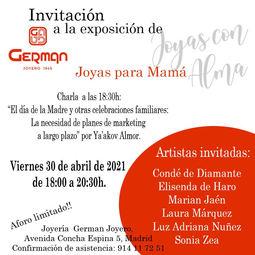 Joyas de Autor para celebrar el Día de la Madre en Germán Joyero