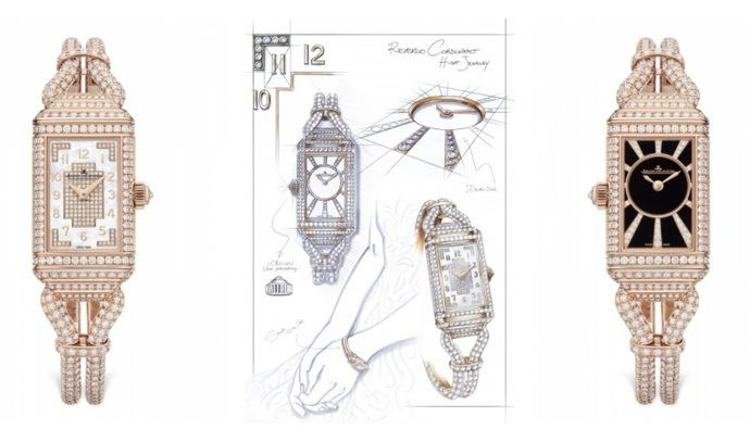 Jaeger-LeCoultre: Reverso One Cordonnet Jewellery