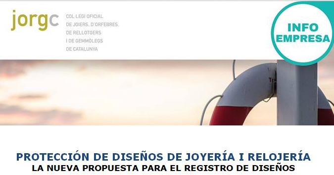 El Colegio de Joyeros de Cataluña presenta su sistema anti-copias