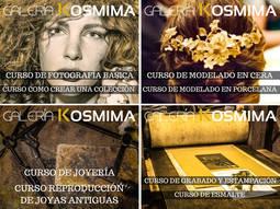 La nueva galería Kosmima presenta una amplia oferta de cursos de joyería