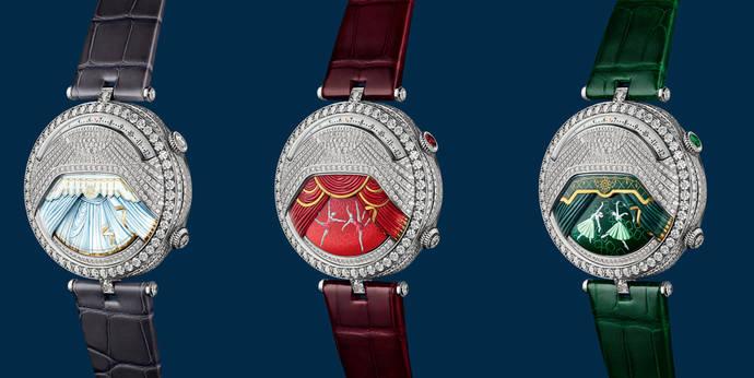 Van Cleef & Arpels: reloj-joya de la magia de la danza