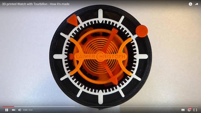 Un suizo muestra cómo construir tu propio reloj mecánico en 3D