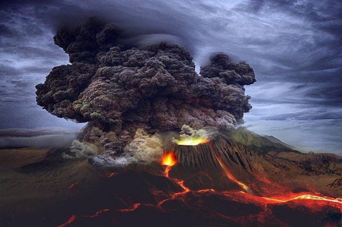 Diamantes: hacia la superficie por los volcanes