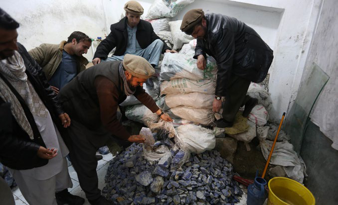 El oro azul de los talibanes en Afganistán