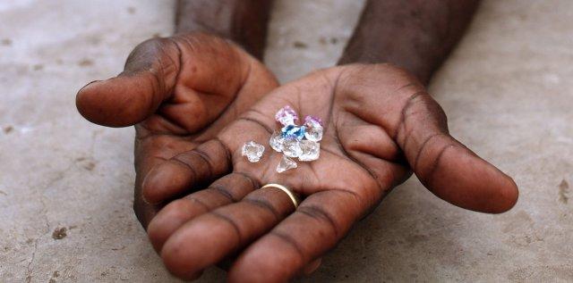 Las grandes minas de diamantes se secarán en 60 años
