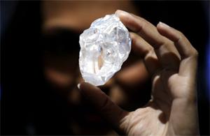 El mayor diamante del mundo no encuentra comprador