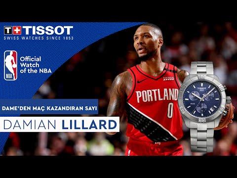 Lillard, embajador NBA de Tissot