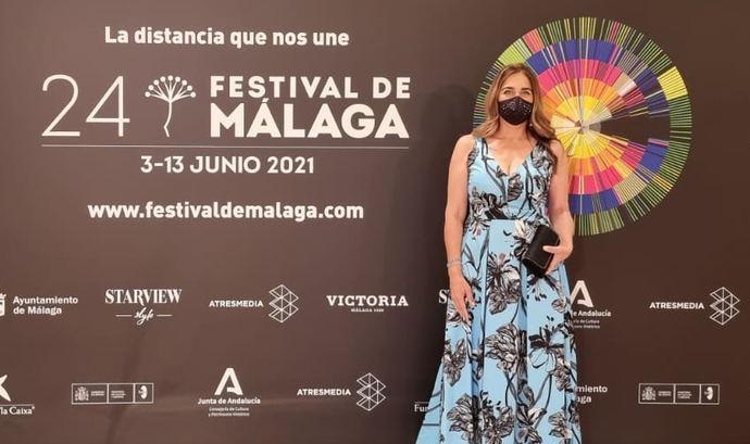 Joyas y Cine: Lissi Fracchia protagoniza el estreno del Festival de Málaga