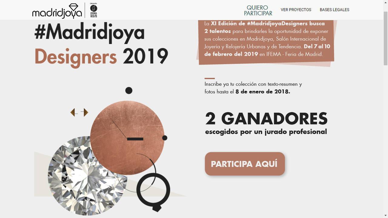 35fd437de3b6 Madrid Joya vuelve a premiar a jóvenes diseñadores