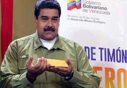 Maduro carga contra EE.UU por su embargo al oro