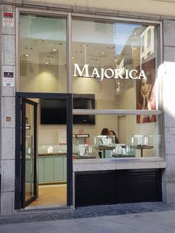 Majorica abre en el centro de Madrid una tienda efímera