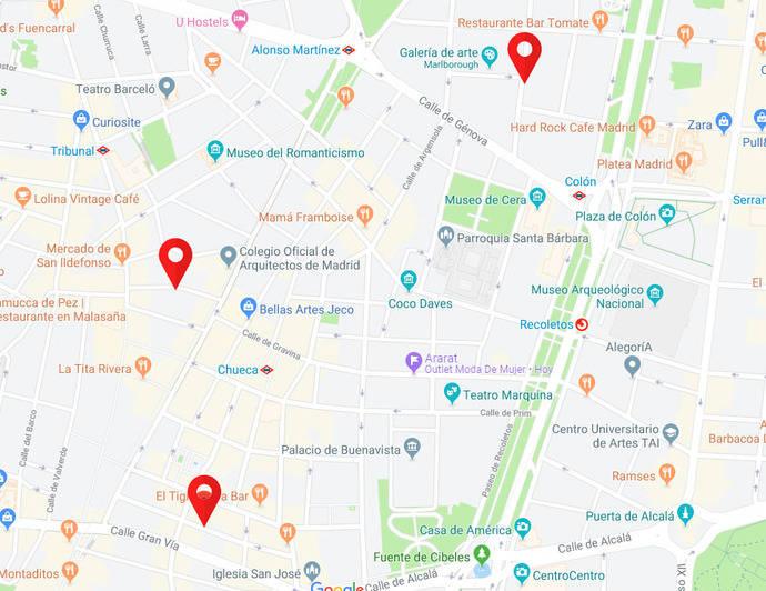 Tres eventos de joya de autor invaden Madrid este jueves